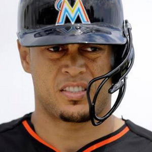 Giancarlo Stanton Gets Major-League Mouth Protection